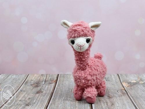Crochet Pattern Alpaca Alexia