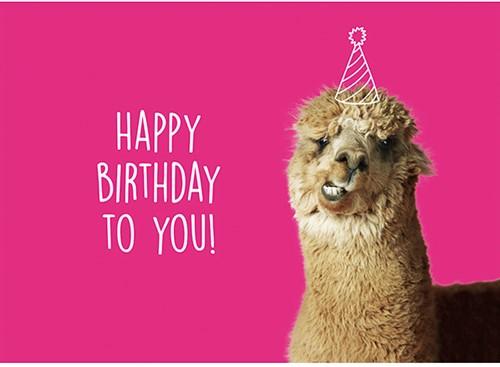Yarnplaza Greetings Card - Happy Birthday to You!