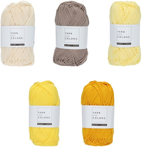 Yarn and Colors Must-have Color Pack 001