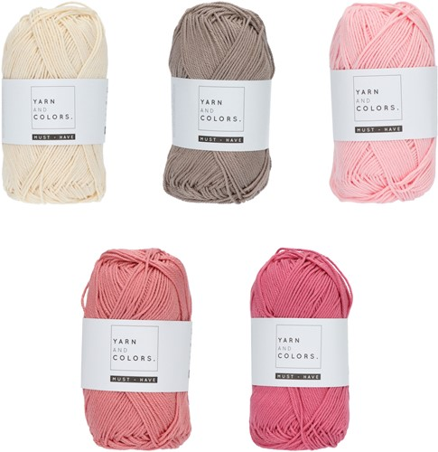 Yarn and Colors Must-have Color Pack 002