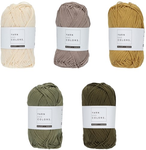 Yarn and Colors Must-have Color Pack 006