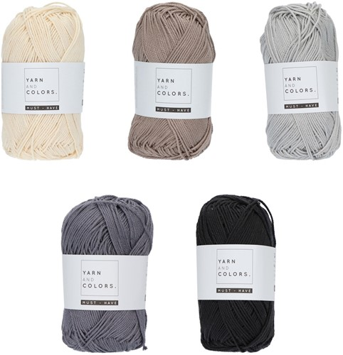 Yarn and Colors Must-have Color Pack 007
