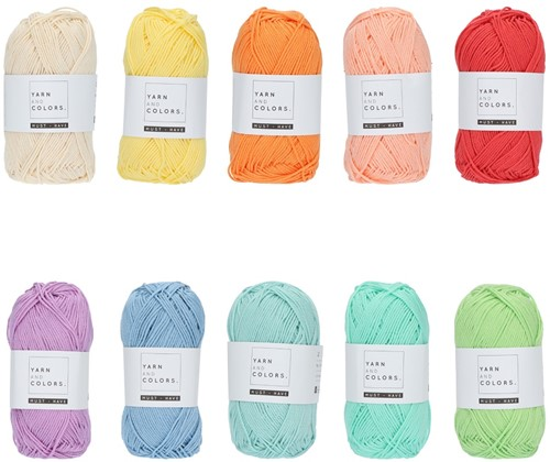 Yarn and Colors Must-have Color Pack 014