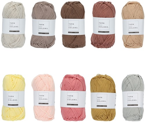 Yarn and Colors Must-have Color Pack 016