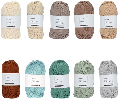 Yarn and Colors Must-have Color Pack 018