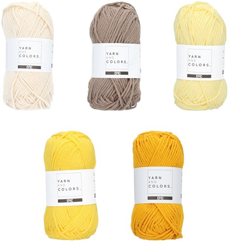Yarn and Colors Epic Color Pack 001