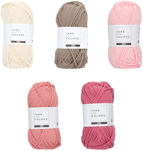 Yarn and Colors Epic Color Pack 002