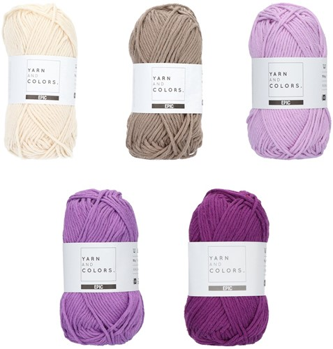 Yarn and Colors Epic Color Pack 003