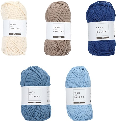 Yarn and Colors Epic Color Pack 004