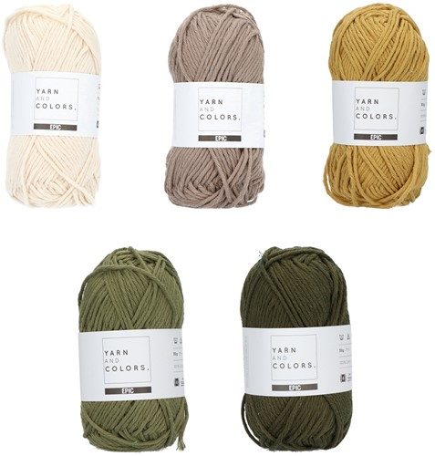 Yarn and Colors Epic Color Pack 006