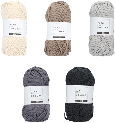 Yarn and Colors Epic Color Pack 007
