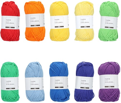 Yarn and Colors Epic Color Pack 015
