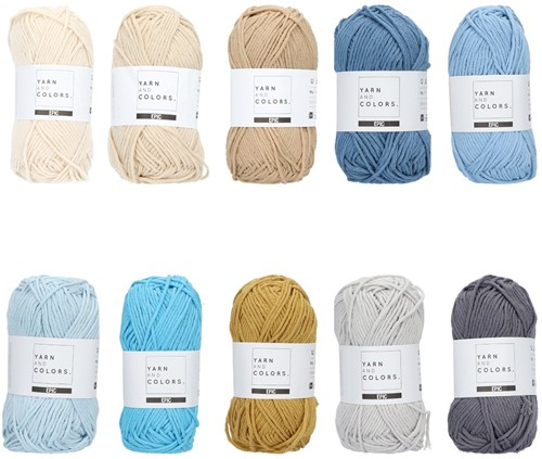 Yarn and Colors Epic Color Pack 017