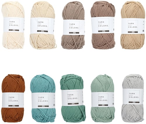 Yarn and Colors Epic Color Pack 018