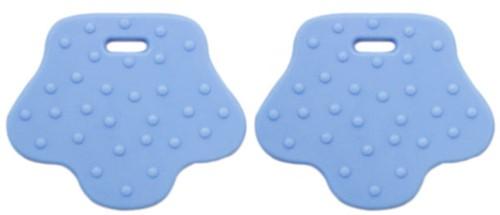 Teether Rings Animal Feet 7 Baby Blue