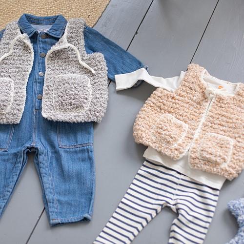 Knitting Pattern Hugg Kids Vest