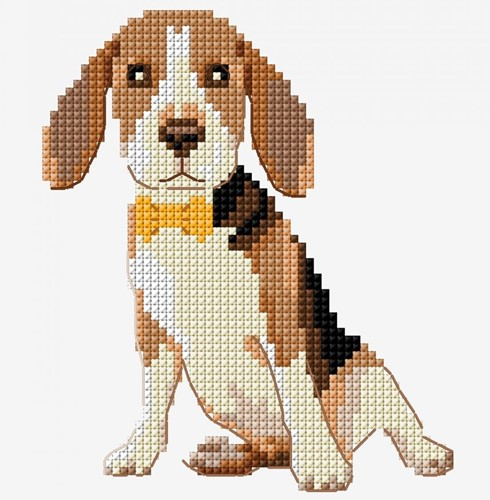 Embroidery Pattern Beagle