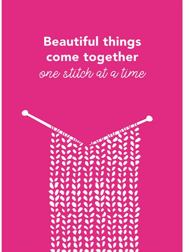 Yarnplaza Postcard - Beautiful things come together