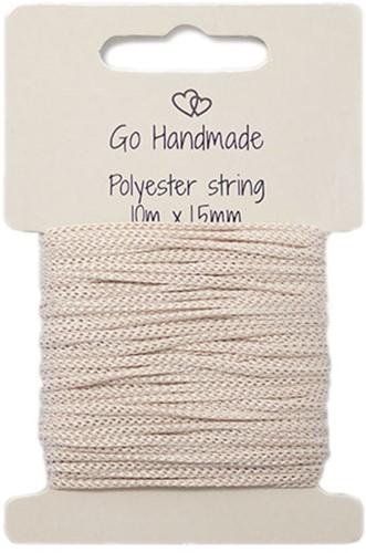 Polyester String 2 Beige