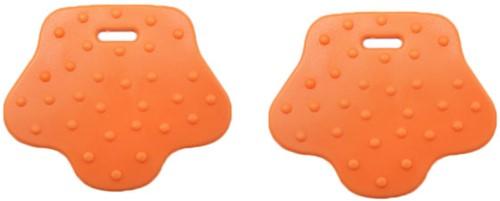 Durable Teether Animal Paw 693 Orange
