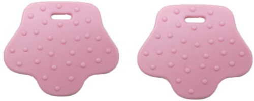 Durable Teether Animal Paw 749 Pink