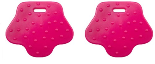 Durable Teether Animal Paw 786 Old Pink
