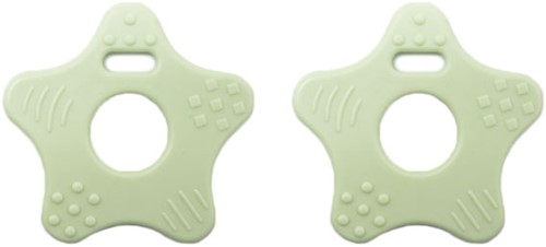 Durable Teether Star 369 Pastel Green