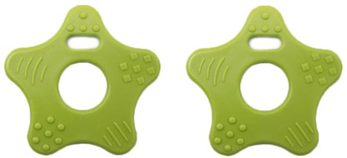 Durable Teether Star 495 Green