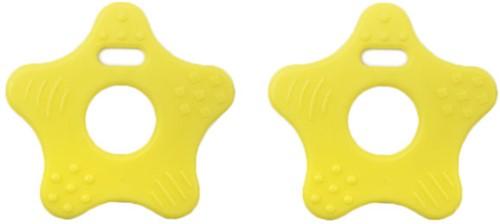 Durable Teether Star 644 Light Yellow
