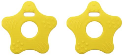Durable Teether Star 645 Yellow