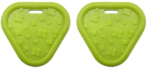 Durable Teether Triangel 495 Green