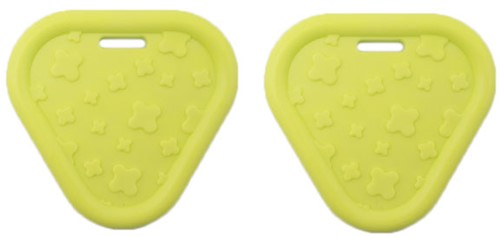 Durable Teether Triangel 647 Pastel Green