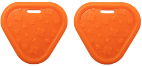 Durable Teether Triangel 693 Orange