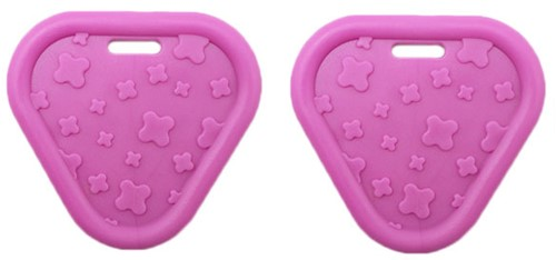 Durable Teether Triangel 786 Pink