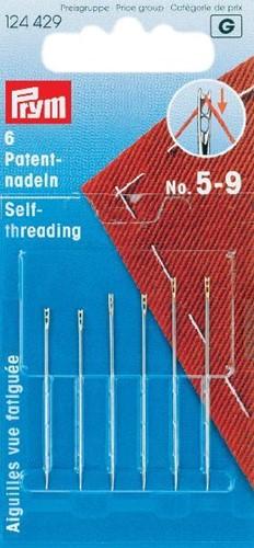 Prym Self-threading needles No.5-9