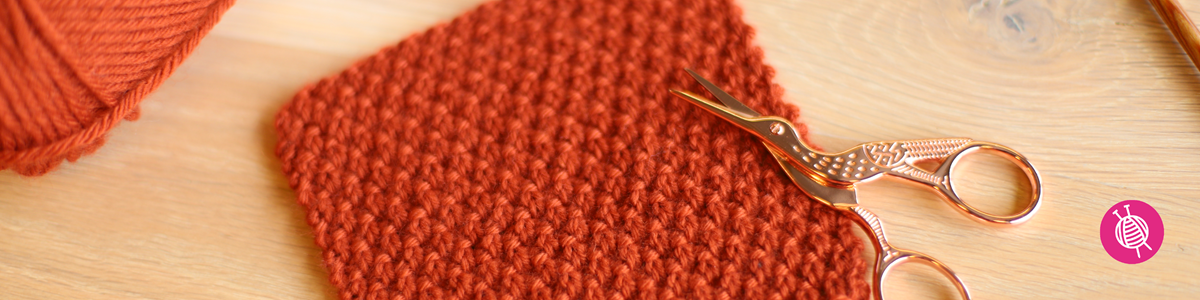 Stitch of the Month: Knit the Double Seed Stitch