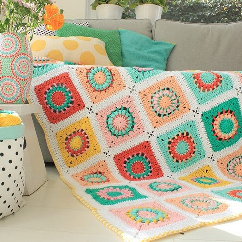Yarn and Colors Blossom Blanket Booklet