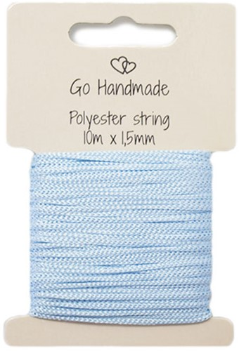 Polyester String 5 Blue