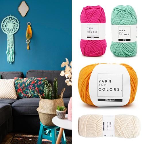 Home-Deco Crochet Kit Bohemian