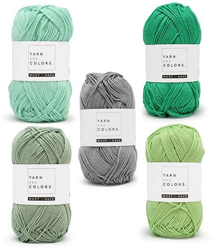 Yarn and Colors Must-Have Boho Wall Hanging Crochet Kit 1 Big