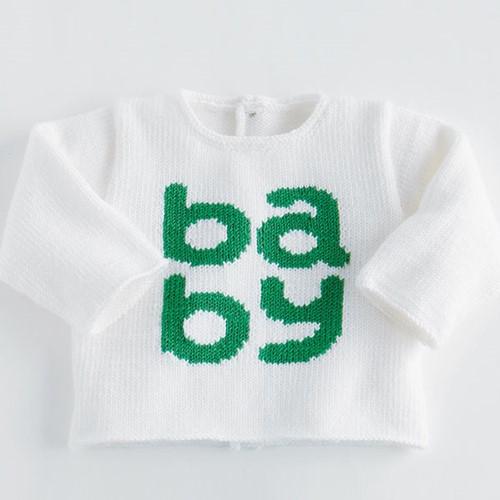 Detente Baby Sweater Knitting Pattern