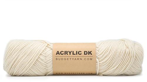 Budgetyarn Acrylic DK 002 Cream