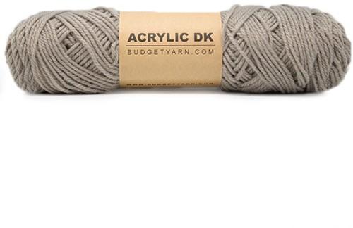 Budgetyarn Acrylic DK 005 Clay