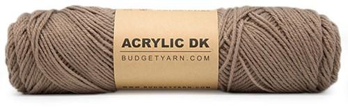 Budgetyarn Acrylic DK 007 Cigar