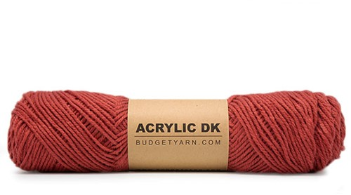 Budgetyarn Acrylic DK 023 Brick