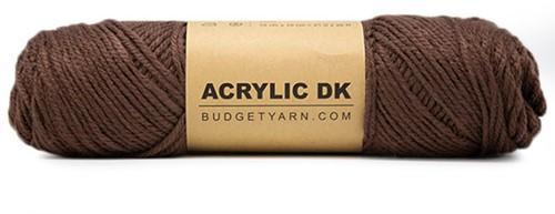 Budgetyarn Acrylic DK 027 Brunet
