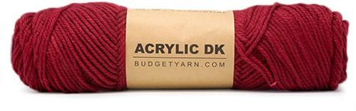 Budgetyarn Acrylic DK 029 Burgundy