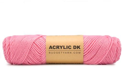 Approx 500g Pink Petek DK Yarn #43