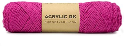 Budgetyarn Acrylic DK 049 Fuchsia