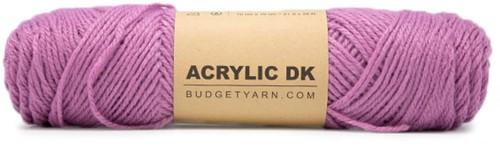 Budgetyarn Acrylic DK 051 Plum